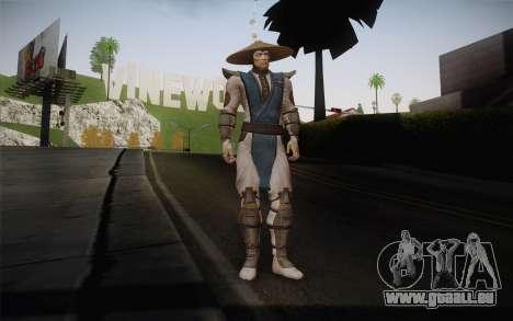 Raiden from Mortal Kombat 9 für GTA San Andreas