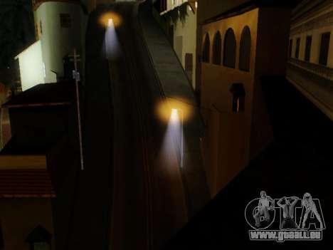 Improved Lamppost Lights v2 pour GTA San Andreas troisième écran