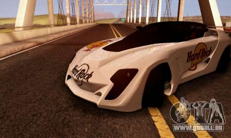 Bertone Mantide 2010 Hard Rock Cafe pour GTA San Andreas