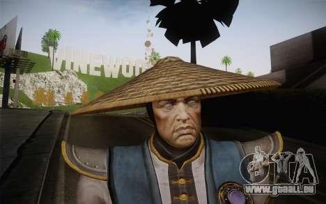 Raiden from Mortal Kombat 9 pour GTA San Andreas troisième écran
