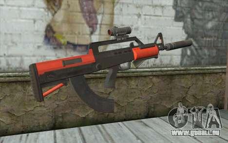 BullPup-Waffe из GTA 5 für GTA San Andreas zweiten Screenshot