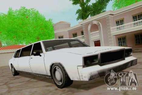 Tahoma Limousine pour GTA San Andreas