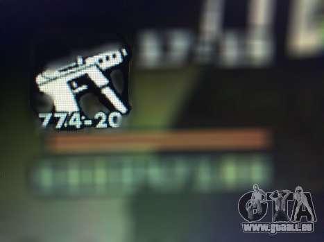 Les nouvelles fonctionnalités d'armes pour GTA San Andreas dixième écran