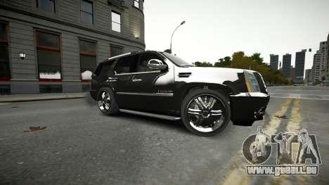 Cadillac Escalade für GTA 4 obere Ansicht