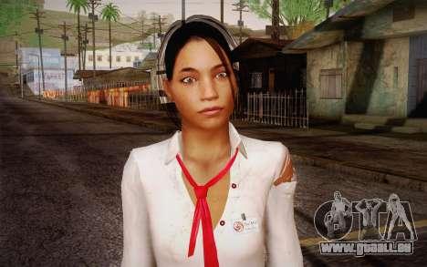 Xian Mei from Dead Island für GTA San Andreas dritten Screenshot