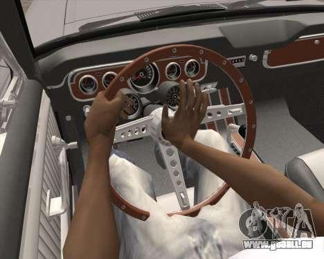 L'Animation en appuyant sur le signal pour GTA San Andreas quatrième écran