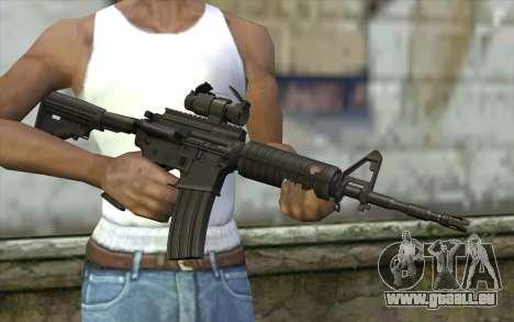 Ricks M4A1 from The Walking Dead S3 für GTA San Andreas dritten Screenshot