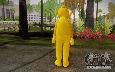 Lala (Teletubbies) für GTA San Andreas zweiten Screenshot