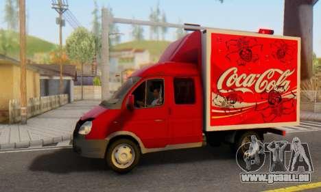 33023 GAZelle Coca-Cola für GTA San Andreas