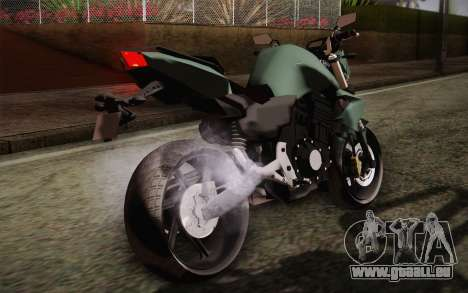 Yamaha FZ6 pour GTA San Andreas vue intérieure