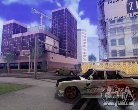 GAZ 31105 Accordables pour GTA San Andreas salon