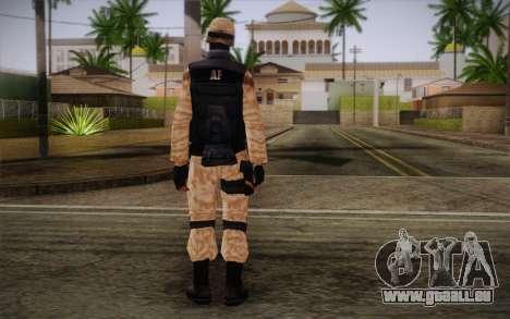 SWAT Desert Camo pour GTA San Andreas deuxième écran