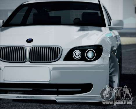 BMW Alpina B7 für GTA San Andreas zurück linke Ansicht
