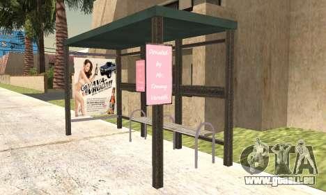 Neue Bushaltestelle für GTA San Andreas dritten Screenshot