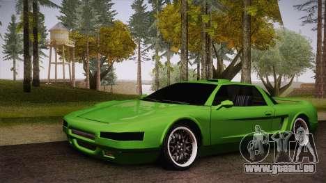 Infernus Racing Edition für GTA San Andreas