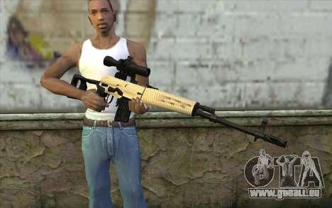 SVD Scharfschützengewehr für GTA San Andreas dritten Screenshot