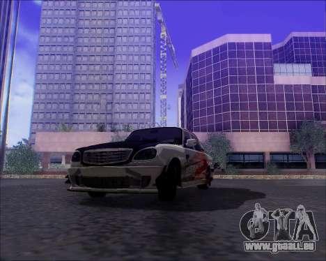 GAZ 31105 Accordables pour GTA San Andreas moteur
