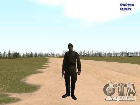 USSR Soldier Pack pour GTA San Andreas huitième écran