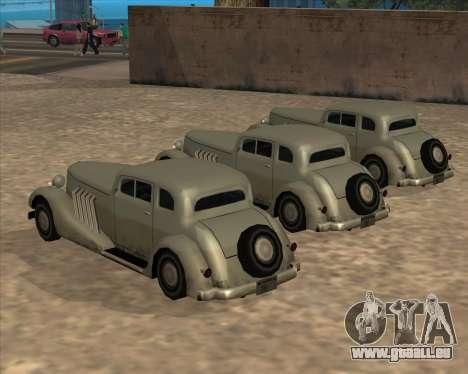 Nouvelle Voiture (Hustler) pour GTA San Andreas vue arrière