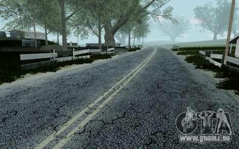 HD Roads 2014 pour GTA San Andreas septième écran