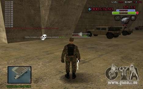 C-HUD by Mr.Bim pour GTA San Andreas troisième écran