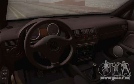 Volkswagen Bora pour GTA San Andreas vue de dessus