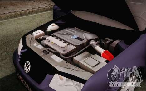 Volkswagen Bora pour GTA San Andreas vue de côté