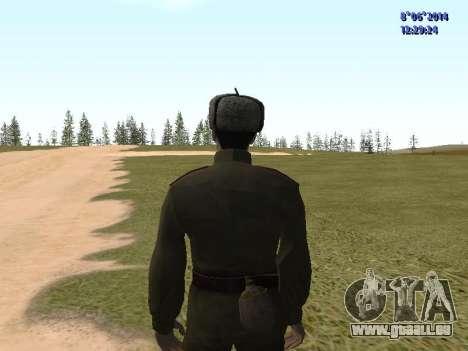 USSR Soldier Pack pour GTA San Andreas sixième écran