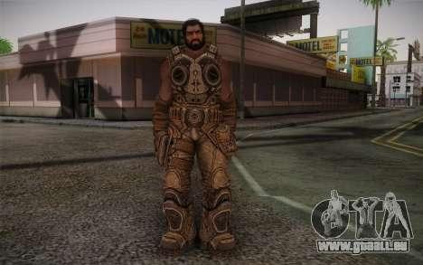 Dom From Gears of War 3 für GTA San Andreas