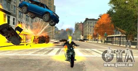 Ghost Rider pour GTA 4 troisième écran