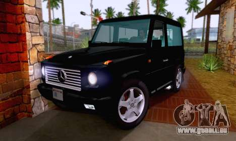 Mercedes-Benz G500 1999 Short pour GTA San Andreas