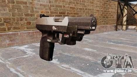 Pistolet FN Cinq à sept LAM Chrome pour GTA 4