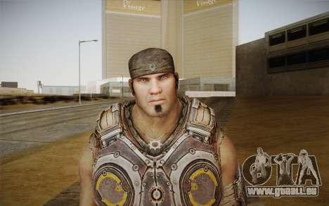 Marcus Fenix из Gears of War 3 pour GTA San Andreas troisième écran