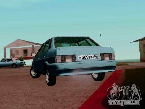 VAZ-21099 pour GTA San Andreas vue de droite