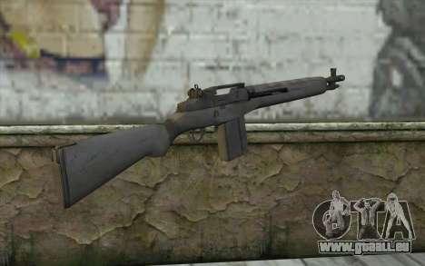 M14 из FarCry pour GTA San Andreas deuxième écran
