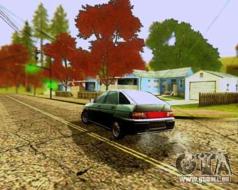 VAZ 2112 Accordables pour GTA San Andreas vue intérieure