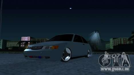 CES 2112 DANS pour GTA San Andreas sur la vue arrière gauche