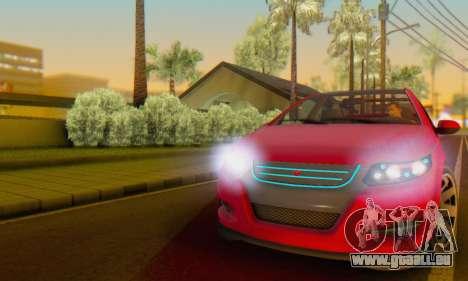 Cheval Surge V1.0 pour GTA San Andreas vue de côté