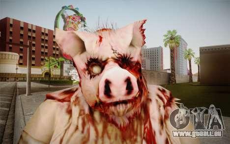 Piggsy Skin pour GTA San Andreas troisième écran