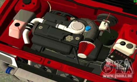 VAZ 2108 Turbo für GTA San Andreas Innen