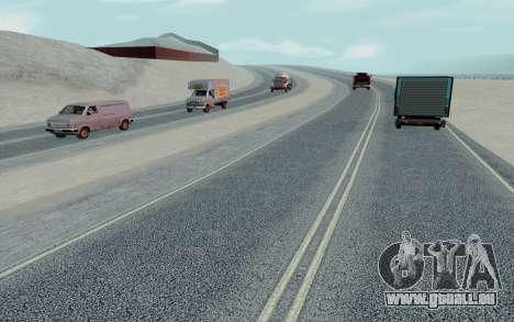 HD Roads 2014 pour GTA San Andreas sixième écran