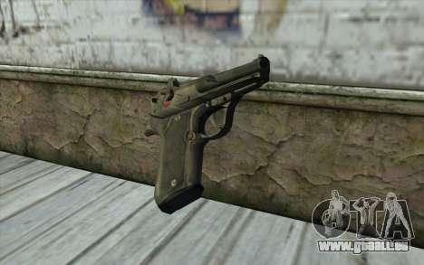 M9 Pistol für GTA San Andreas zweiten Screenshot
