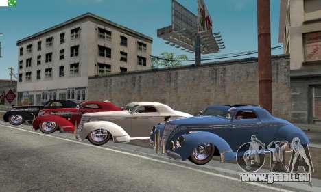 Lincoln Zephyr 1946 für GTA San Andreas