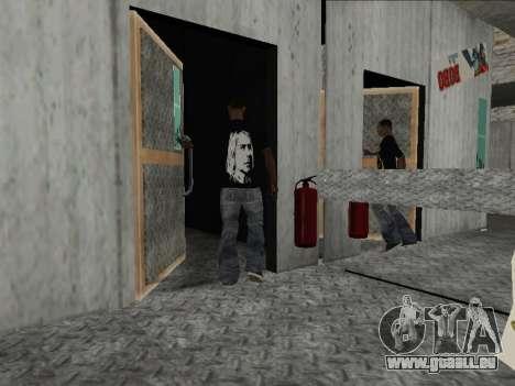 Mike Nirvana et Kurt Cobain pour GTA San Andreas troisième écran