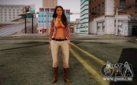 Megan Fox pour GTA San Andreas