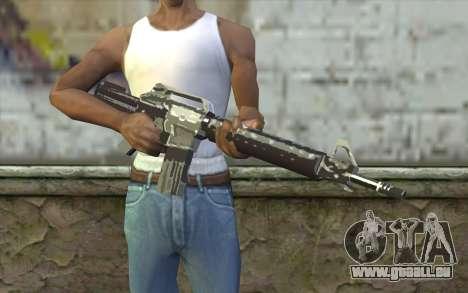 New M4 für GTA San Andreas dritten Screenshot