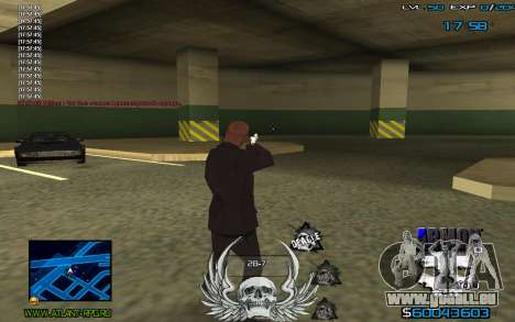 C-HUD by Extazy für GTA San Andreas dritten Screenshot