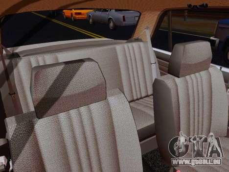 VAZ 2105 Riva für GTA San Andreas Innenansicht