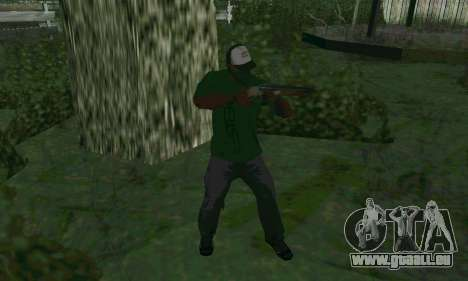 Les nouvelles fonctionnalités d'armes pour GTA San Andreas deuxième écran