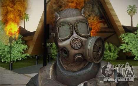 S.A.S Gas Mask pour GTA San Andreas troisième écran